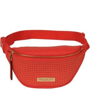 MARC NEW YORK MICRO STUD FAUX-LEATHER FANNY PACK